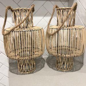picnic hire bamboo lantern