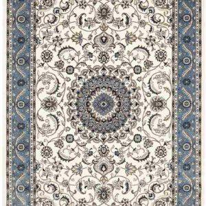 picnic hire pale blue persian rug