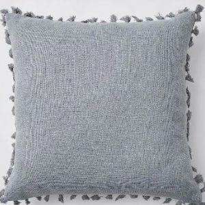 picnic hire grey cushion