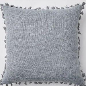picnic hire grey cushion