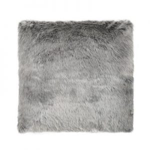 picnic-hire-grey-faux-fur-cushion