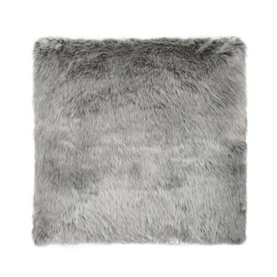 picnic-hire-grey-faux-fur-cushion