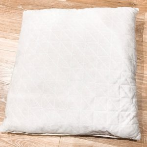 picnic hire velvet cushion