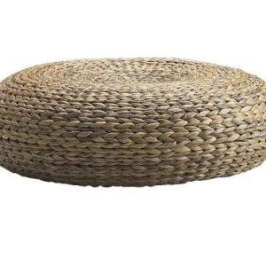 picnic hire seagrass ottoman