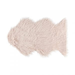 picnic hire small pink shaggy rug