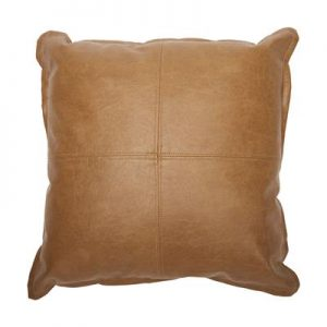 prop-hire-leather-look-cushion