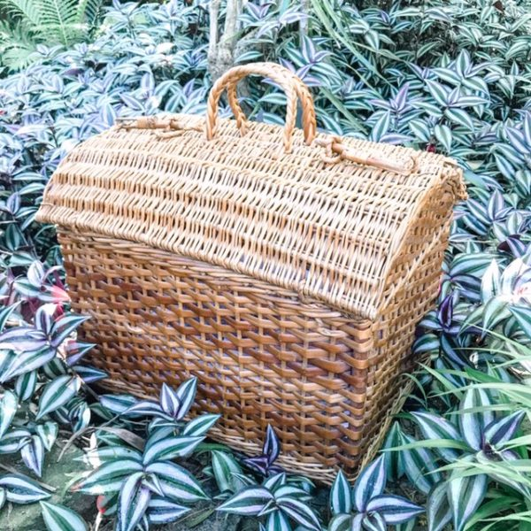 wicker picnic basket hire