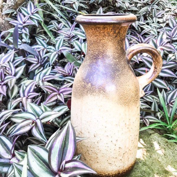ceramic boho vase for hire