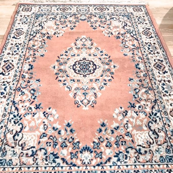 pink boho rug for hire