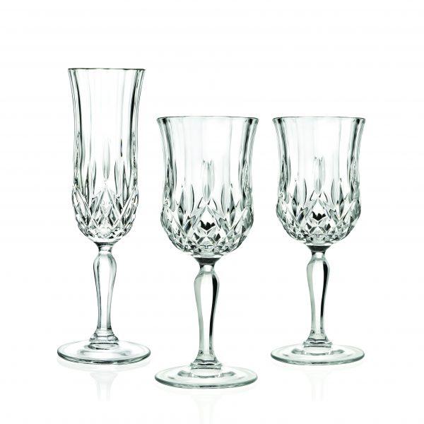 picnic hire crystal glassware