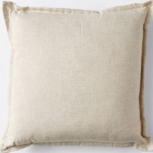 linen boho picnic cushion