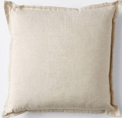linen boho picnic cushion