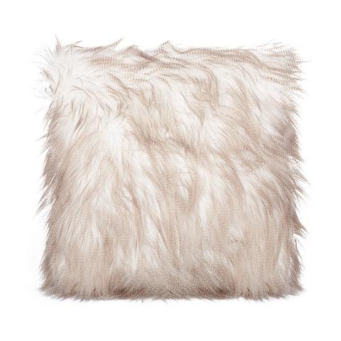 shaggy boho cushion hire