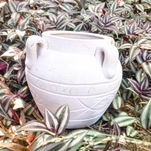 small boho floor urn