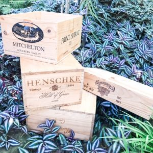 picnic hire wine crates