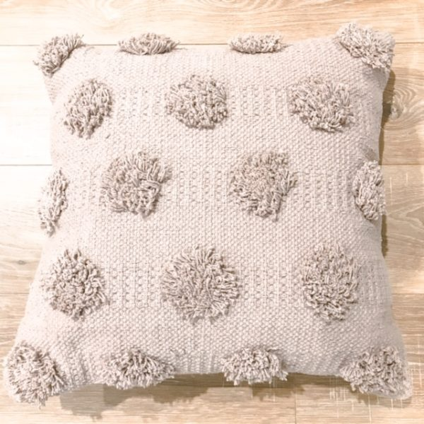 picnic hire gemma tufted cushion