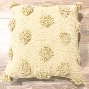 picnic hire tufted cushion